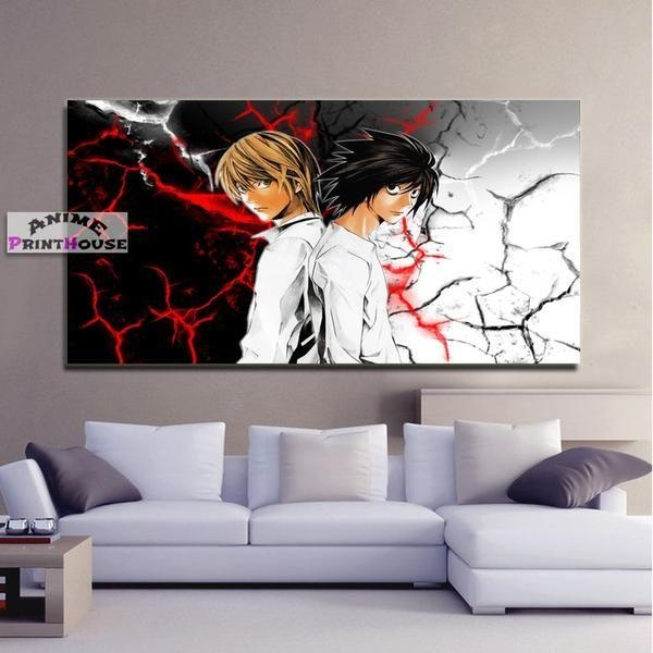111 Best Anime Canvas Painting Images On Pinterest With Anime Canvas Wall Art (Image 1 of 20)