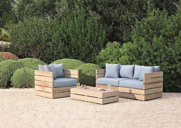 12 Best Palets Images On Pinterest | Carpentry, Diy Sofa And Plywood With Outdoor Sofas And Chairs (Image 1 of 10)