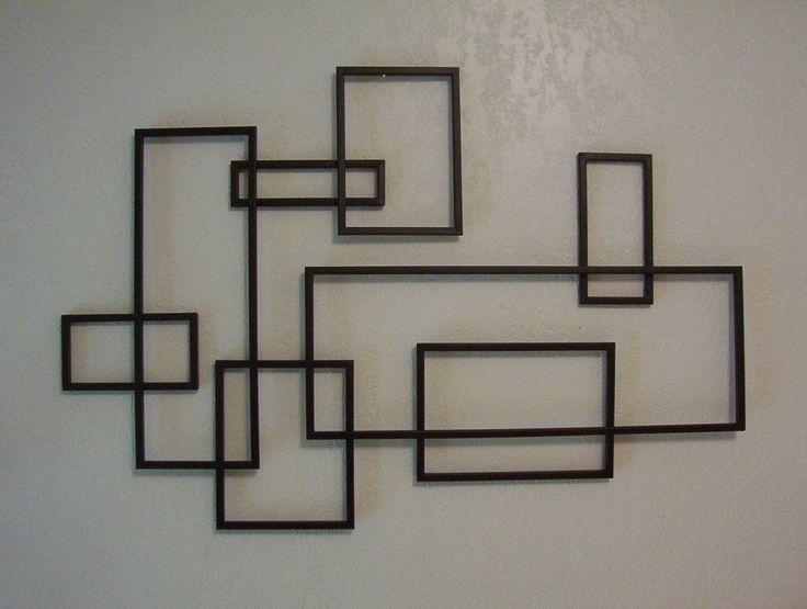 122 Best Modern Wall Design Images On Pinterest | Wall Decor For Geometric Modern Metal Abstract Wall Art (View 4 of 20)