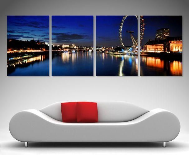 133 Best 4 Split Panel Wall Art Images On Pinterest | Framed Art For Brisbane Canvas Wall Art (Image 1 of 20)