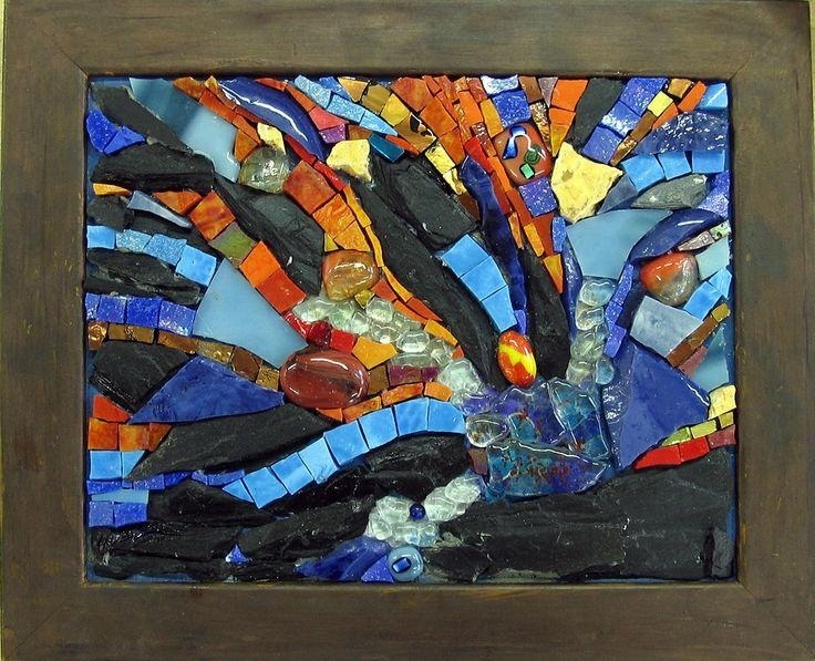 134 Best Abstract Mosaics Images On Pinterest | Stained Glass Inside Abstract Mosaic Wall Art (View 14 of 20)