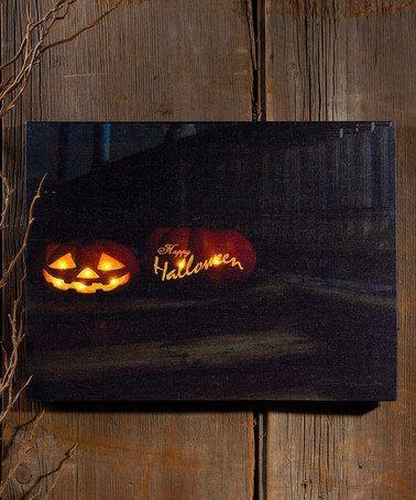 134 Best Lighted Canvas Art Images On Pinterest   Canvas Art For Halloween Led Canvas Wall Art (Image 1 of 20)
