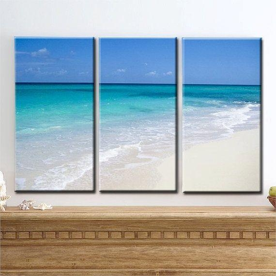 14 Best Wall Murals Images On Pinterest | Beach Wall Murals With Regard To Beach Themed Canvas Wall Art (Image 1 of 20)