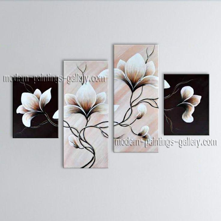 140 Best Original Abstract Paintings From Tian Yi Art Studio Pertaining To Abstract Floral Canvas Wall Art (Image 1 of 20)