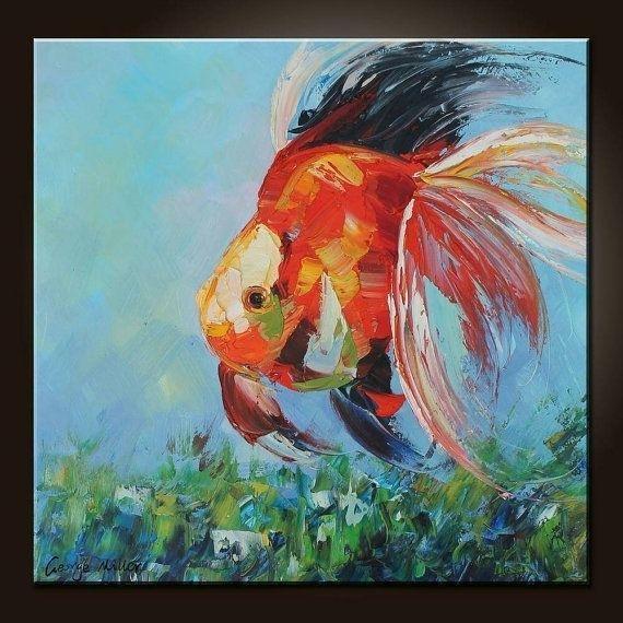 15+ Choices Of Abstract Fish Wall Art | Wall Art Ideas With Regard To Abstract Fish Wall Art (Image 3 of 20)