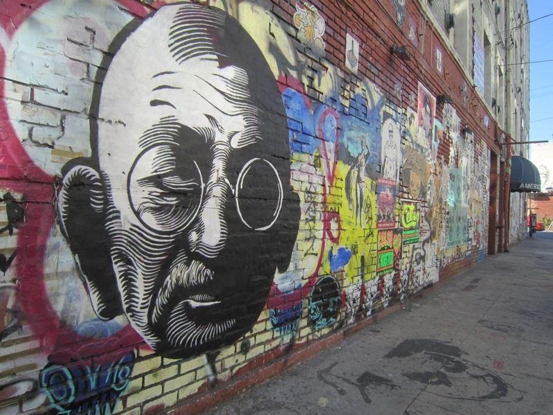 15 Graffiti Wall Art Of World Famous Personalities | Must See In Abstract Graffiti Wall Art (Image 1 of 20)