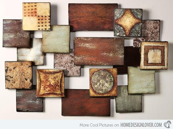 15 Modern And Contemporary Abstract Metal Wall Art Sculptures With Abstract Iron Wall Art (Image 3 of 20)