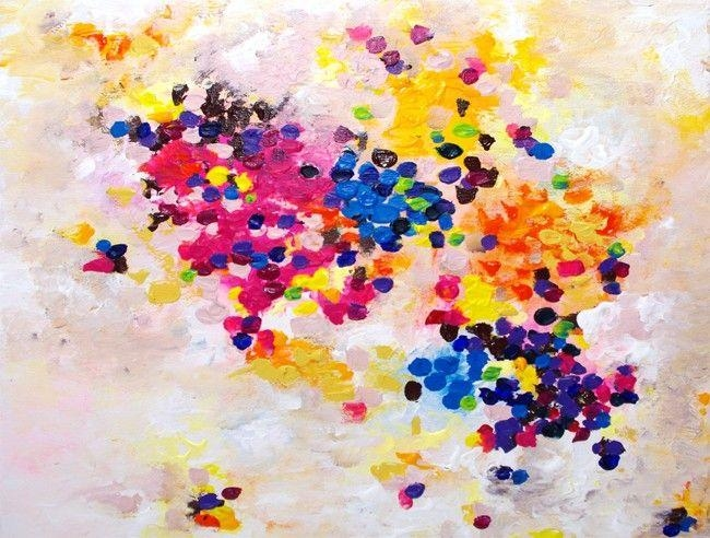 158 Best My Original Paintings On Canvas Images On Pinterest With Abstract Neon Wall Art (View 6 of 20)