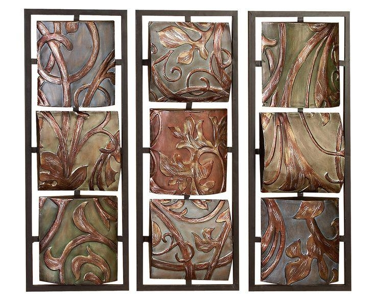 17 Best Metal Wall Art Images On Pinterest | Metal Wall Art, Metal Intended For Abstract Garden Wall Art (Image 1 of 20)