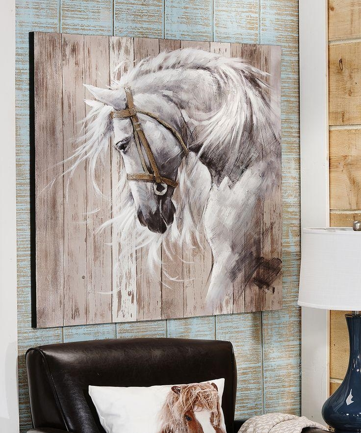 170 Best Horse Gifts Images On Pinterest | Horse Gifts, Horse And Intended For Horses Canvas Wall Art (Image 2 of 20)