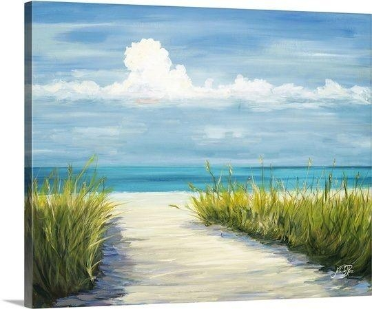 174 Best Beach And Coastal Art & Decor Images On Pinterest Inside Canvas Wall Art Beach Scenes (Image 2 of 20)
