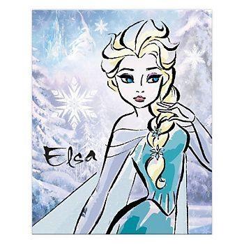 18 Best Everything Disney Images On Pinterest | Disney Princess For Elsa Canvas Wall Art (Image 2 of 20)