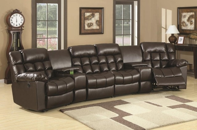 18 Sofa Consoles | Carehouse Pertaining To Sectional Sofas With Consoles (Image 1 of 10)