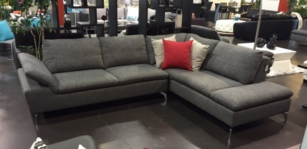 1831 Fabric Sectional Sofa – Vancouver Sofa Company For Sectional Sofas At Bc Canada (Image 1 of 10)