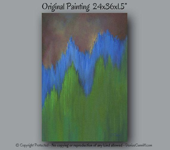 184 Best Artfromdenise – Paintingsdenise Cunniff Images On Pertaining To Olive Green Abstract Wall Art (Image 1 of 20)