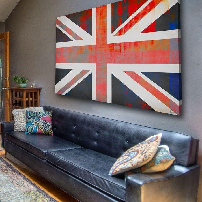 Featured Image of Union Jack Canvas Wall Art