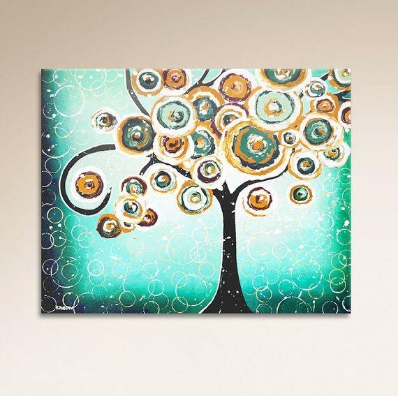192 Best Etsy Images On Pinterest | Quirky Art, Whimsical Art And With Quirky Canvas Wall Art (Image 3 of 20)