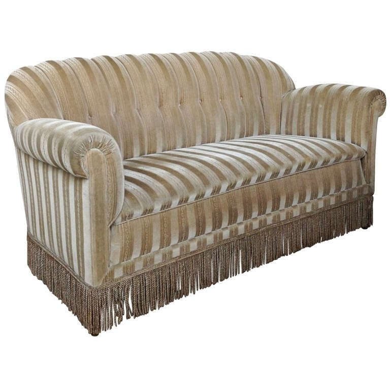 1930S Mohair Sofa | 1930S, Grey Couches And Art Deco Furniture For 1930S Sofas (Image 4 of 10)
