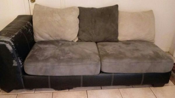 2 Gray Fabric Sofa Or L Sectional (Furniture) In Tallahassee, Fl Inside Tallahassee Sectional Sofas (Image 1 of 10)