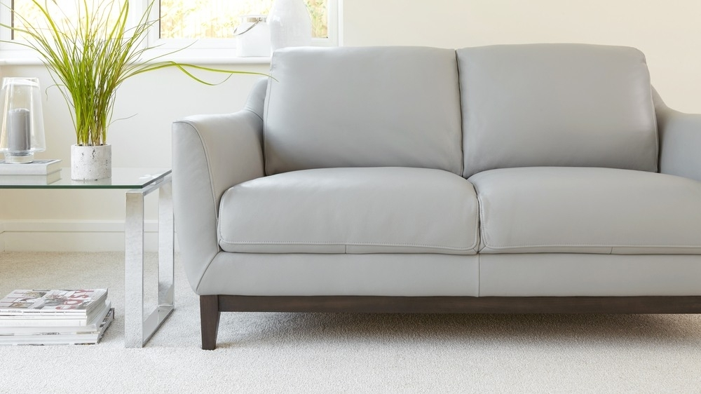 2 Seater Leather Sofa | Living Room Furniture | Uk Intended For Two Seater Sofas (Image 1 of 10)