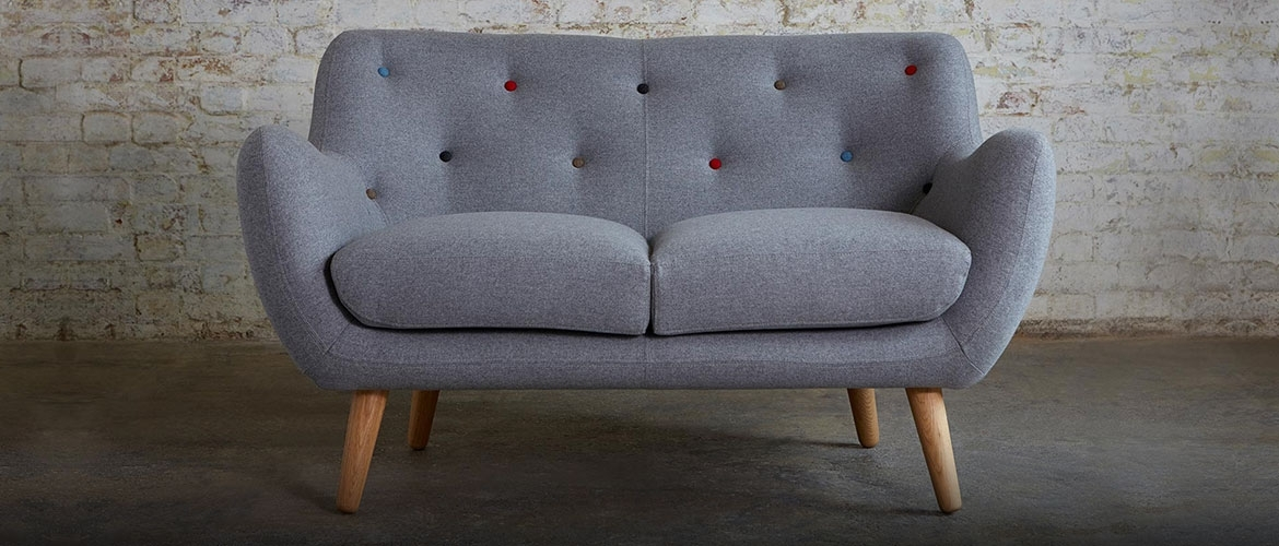 2 Seater Small Sofas With Small 2 Seater Sofas (Image 1 of 10)