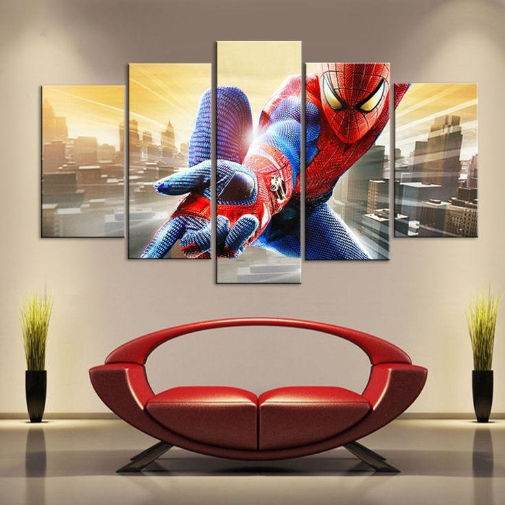 20 Best Anime Images On Pinterest Pertaining To Movies Canvas Wall Art (Image 1 of 20)