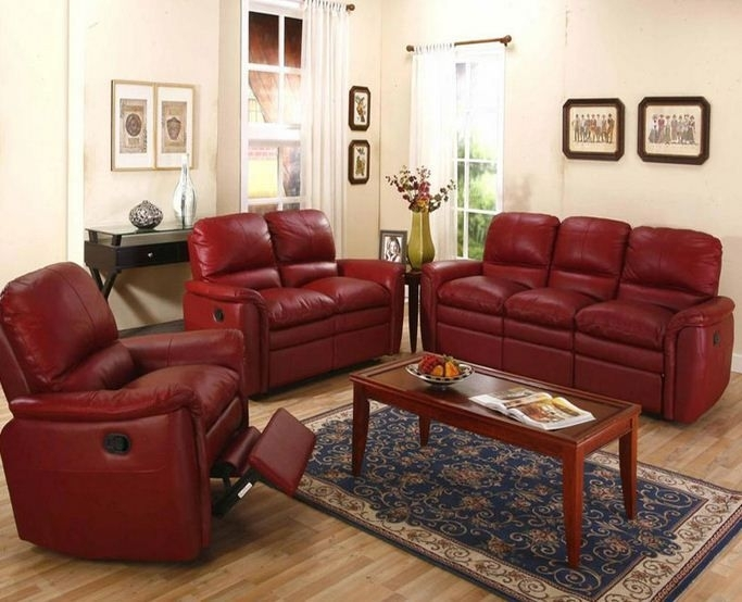 20 Best Reclining Leather Furniture Images On Pinterest | Leather Regarding Red Leather Sectional Sofas With Recliners (View 10 of 10)