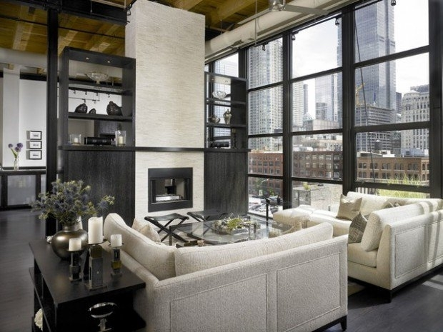 20 Elegant And Functional Living Room Design Ideas With Sectional Regarding Elegant Sectional Sofas (Image 3 of 10)