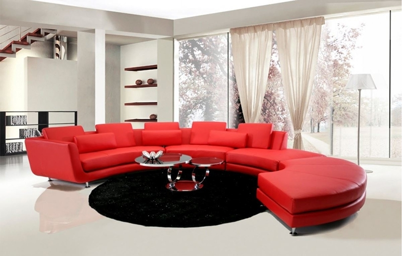20 Jigsaw Sectional Sofa That Will Bring Comfort And Style In Your Intended For Red Sectional Sofas With Ottoman (View 10 of 10)
