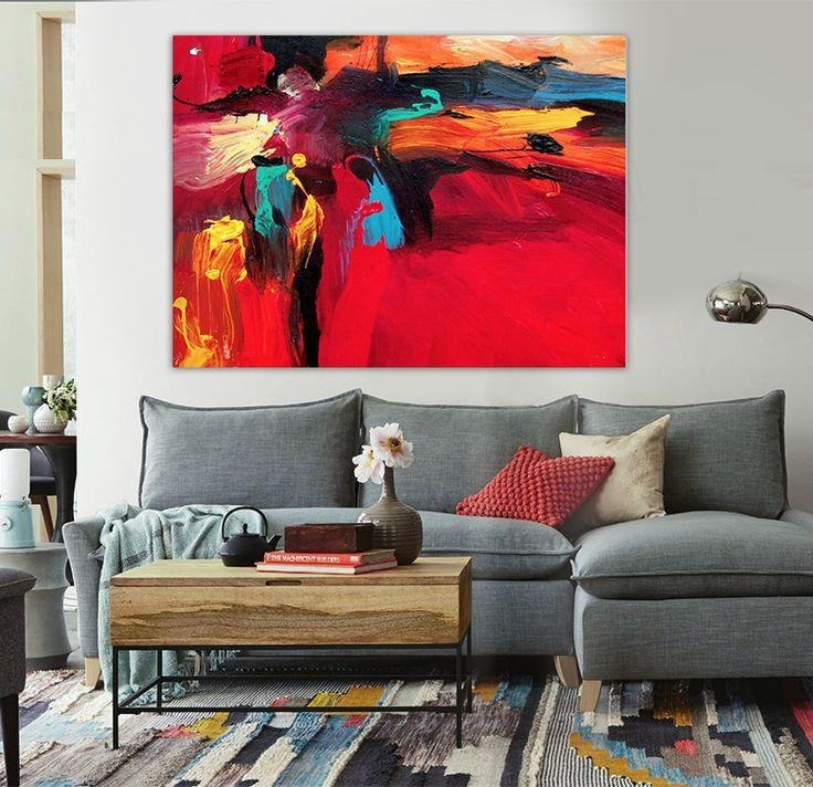 213 Best Abstract Art Images On Pinterest | Art Walls, Canvas Art Throughout Abstract Office Wall Art (View 7 of 20)