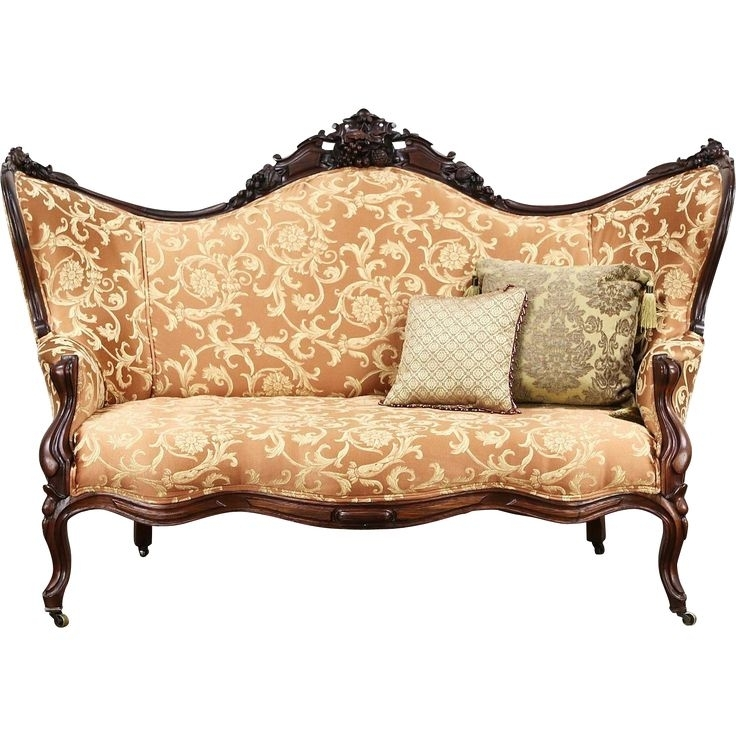 22 Best Sofas Images On Pinterest | Antique Furniture, Canapes And With Regard To Vintage Sofas (View 6 of 10)