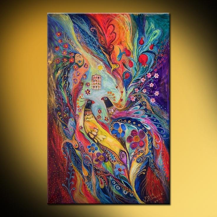 23 Best Lena Kotliarker Images On Pinterest | Pintura, Art Print For Jewish Canvas Wall Art (View 5 of 20)