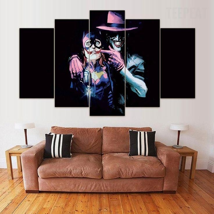24 Best Joker Canvas Art Images On Pinterest | Painting Canvas Inside Joker Canvas Wall Art (View 12 of 20)