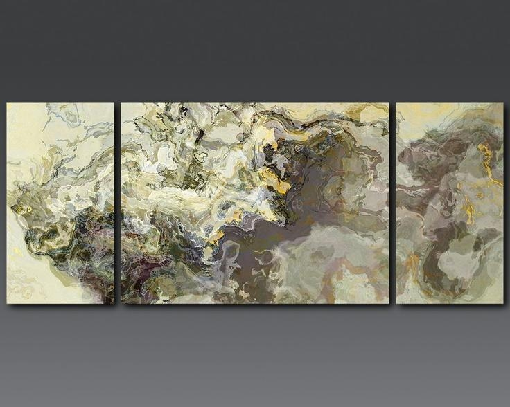 25 Best Neutral Abstract Art Images On Pinterest | Abstract Art Pertaining To Neutral Abstract Wall Art (Image 2 of 20)