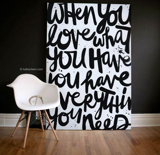 25 Creative And Easy Diy Canvas Wall Art Ideas | Canvases With Large Canvas Wall Art Quotes (Image 1 of 20)
