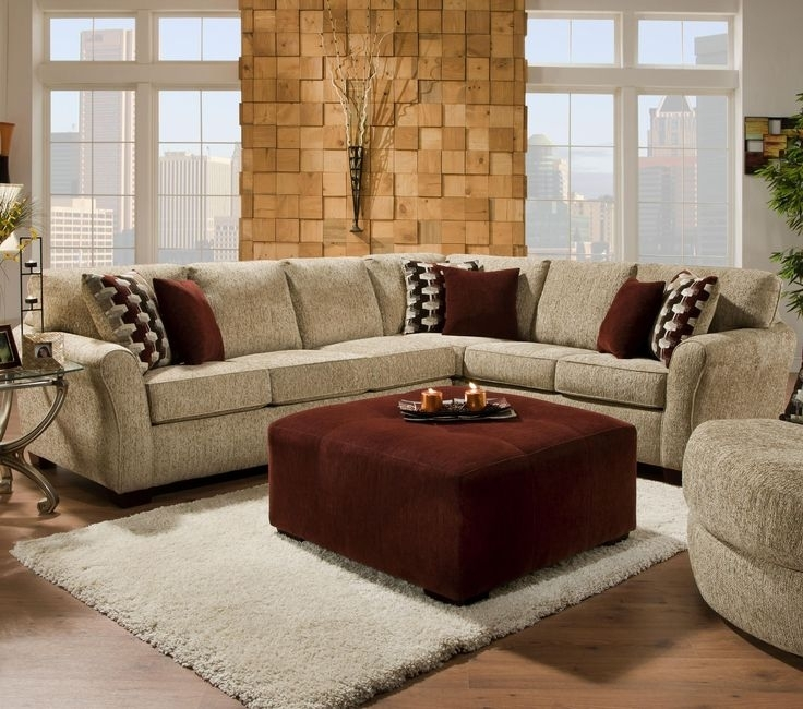 2500 Contemporary Styled Sectional Sofa With Sleepercorinthian In Johnny Janosik Sectional Sofas (Image 1 of 10)