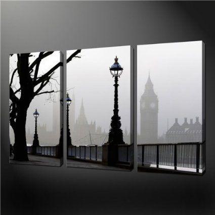 28 Best Blauwe Maandag Images On Pinterest | Painting Art Regarding London Canvas Wall Art (Image 2 of 20)