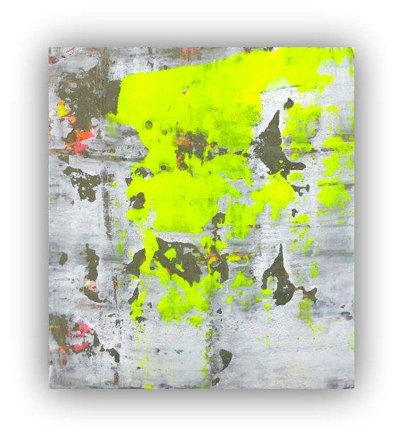 28 Best Wall Art Images On Pinterest | Abstract Art Paintings For Abstract Neon Wall Art (Photo 15 of 20)