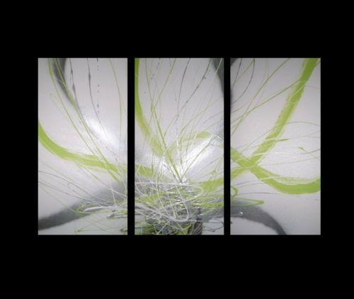 28 Best Wall Painting Images On Pinterest | Abstract Canvas With Green Abstract Wall Art (View 7 of 20)