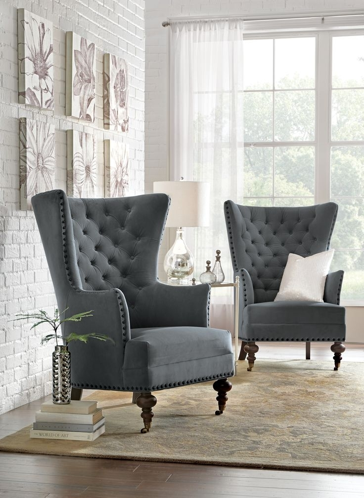 297 Best Living Room Images On Pinterest | Armchairs, Front Rooms Throughout Sofa Chairs For Living Room (Image 1 of 10)