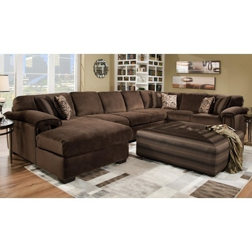3 Piece Sectional Sofas Bonded Leather F7351 Huntington Beach Pertaining To 3 Piece Sectional Sleeper Sofas (Image 4 of 10)