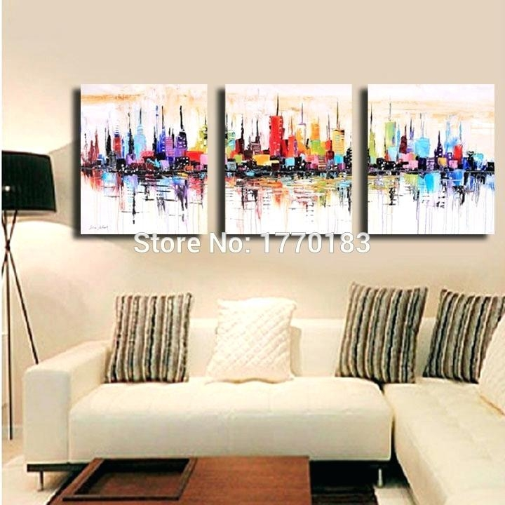 3 Piece Wall Art Sets – Euprera2009 Throughout Abstract Canvas Wall Art Iii (Image 6 of 20)