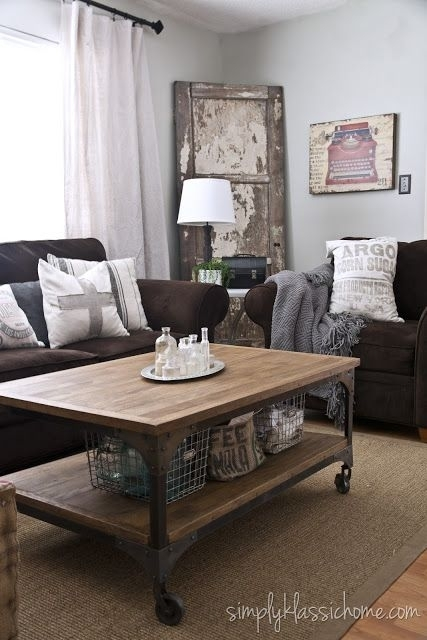 30 Best Accent Colors For My Brown Couch Images On Pinterest Within Brown Sofa Chairs (Image 1 of 10)