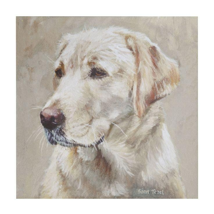 33 Best Animal Paintings Images On Pinterest | Animal Paintings Intended For Dogs Canvas Wall Art (Image 2 of 20)