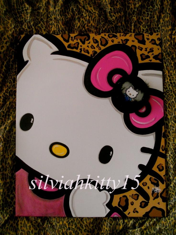 332 Best Canvas Art – Random Images On Pinterest | Canvas With Hello Kitty Canvas Wall Art (Image 2 of 20)