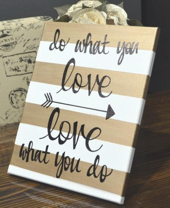 35 Collection Of Canvas Wall Art Quotes For Canvas Wall Art Quotes (Photo 1 of 20)