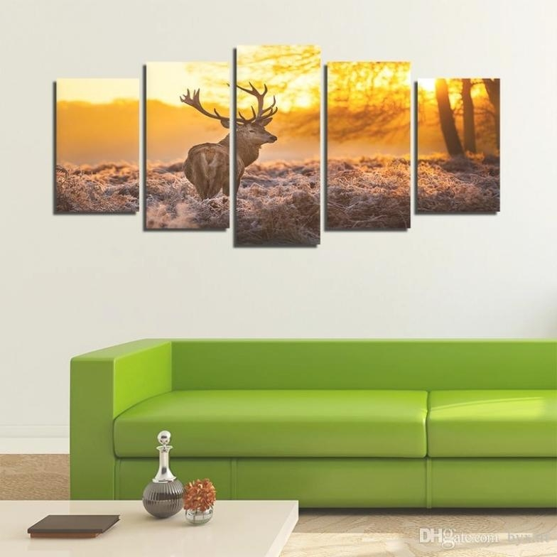 35 Collection Of Deer Canvas Wall Art With Regard To Deer Canvas Wall Art (View 11 of 20)