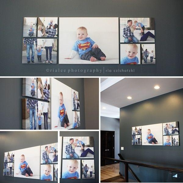 36 Best Wall Art – How To Arrange Your Photos Images On Pinterest Inside Groupings Canvas Wall Art (Image 3 of 20)