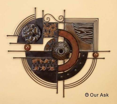 4 Eye Catching!!! Abstract Metal Wall Art And Sculpture | Our Ask Regarding Abstract Metal Wall Art Sculptures (Image 3 of 20)