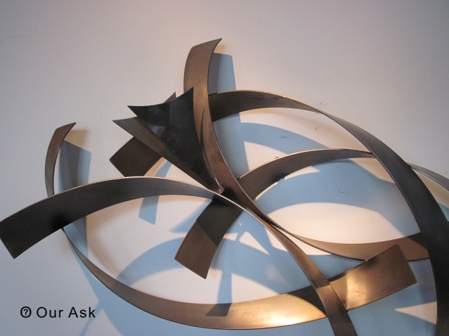 4 Eye Catching!!! Abstract Metal Wall Art And Sculpture | Our Ask Throughout Abstract Metal Sculpture Wall Art (Image 3 of 20)